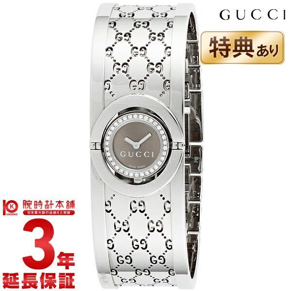 【ショッピングローン24回金利0%】グッチ GUCCI 112シリーズ THE TWIRL 10Pダイヤモンドベゼルバングルウォッチ YA112503 [海外輸入品] レディース 腕時計 時計