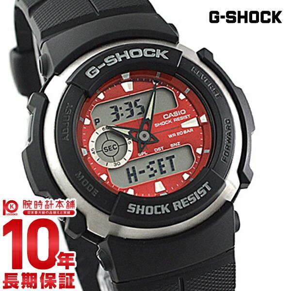 カシオ Gショック G-SHOCK STANDARD G-SPIKE Gスパイク レッド×ブラック G-300-4AJF [正規品] メンズ 腕時計 時計(予約受付中)