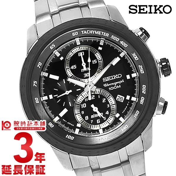 セイコー 逆輸入モデル クロノグラフ CHRONOGRAPH クロノグラフ アラーム機能 100m防水 SNAB51P1 [海外輸入品] メンズ 腕時計 時計