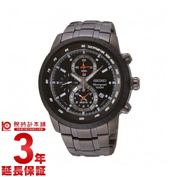 セイコー 逆輸入モデル クロノグラフ CHRONOGRAPH クロノグラフ アラーム機能 100m防水 SNAB53P1 [海外輸入品] メンズ 腕時計 時計