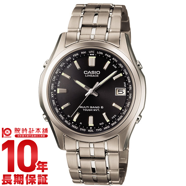 Udedokeihompo  Casio lineage LINEAGE LIW-T100TD-1AJF mens watch ... 9615ffeffd