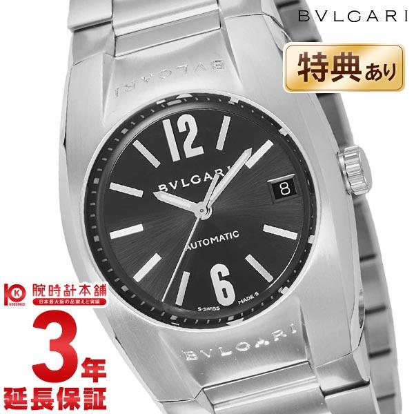 【ショッピングローン24回金利0%】ブルガリ BVLGARI エルゴン ブラック 自動巻 EG35BSSD [海外輸入品] メンズ 腕時計 時計