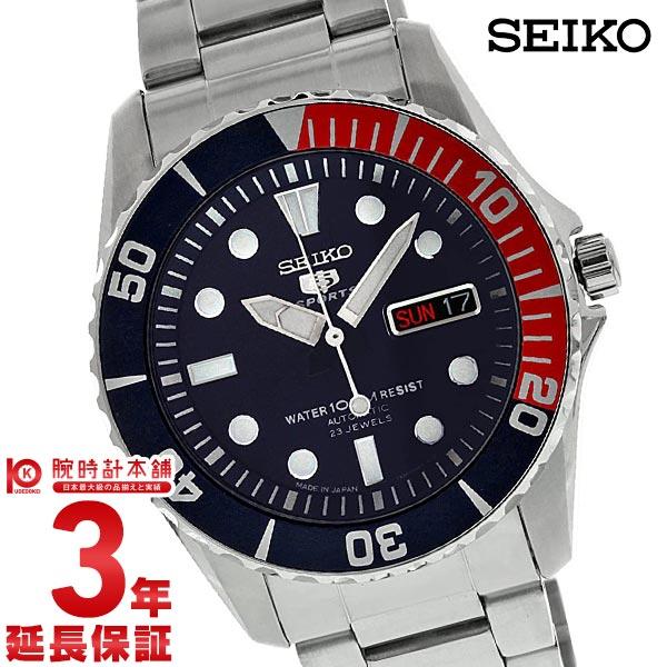 セイコー5 逆輸入モデル SEIKO5 5スポーツ 100m防水 機械式(自動巻き) SNZF15J1 [海外輸入品] メンズ 腕時計 時計