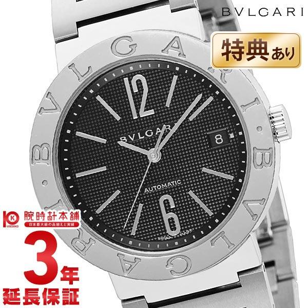 【ショッピングローン24回金利0%】ブルガリ BVLGARI ブルガリブルガリ ブラック 自動巻 BB38BSSD AUTO [海外輸入品] メンズ 腕時計 時計