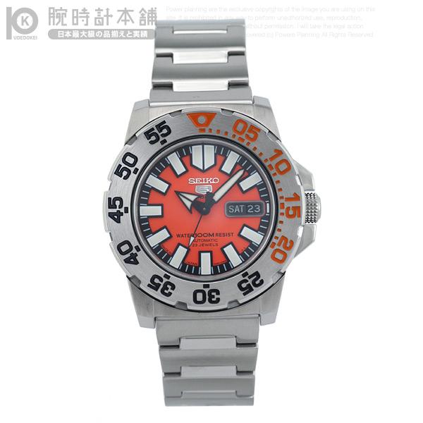 【店内最大37倍!28日23:59まで】セイコー5 逆輸入モデル SEIKO5 5スポーツ 100m防水 機械式(自動巻き) SNZF49J1 [海外輸入品] メンズ 腕時計 時計