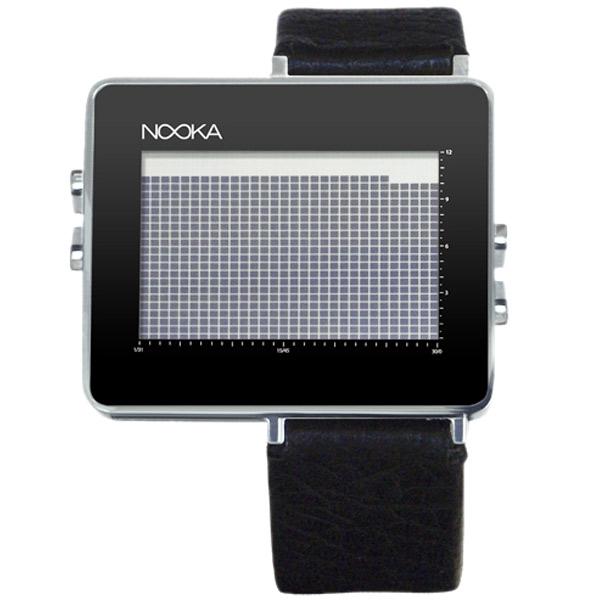 Nooka NOOKA ZON 2008AW limited ZON BLACK watch / seasonal