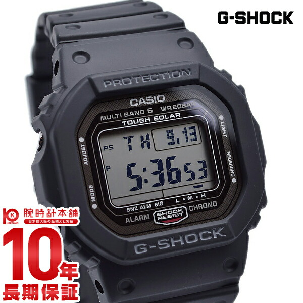 cheap for discount 3af12 3c50b Casio G-Shock G-SHOCK ORIGIN tough solar radio time signal MULTIBAND6  GW-5000-1JF [regular article] men watch clock