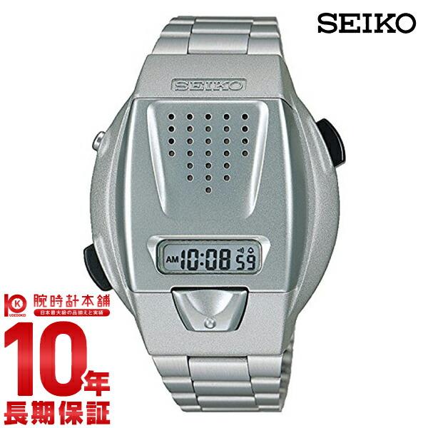 【店内ポイント最大43倍&最大2000円OFFクーポン!9日20時から】セイコー SEIKO 音声デジタルウオッチ SBJS001 [正規品] メンズ 腕時計 時計