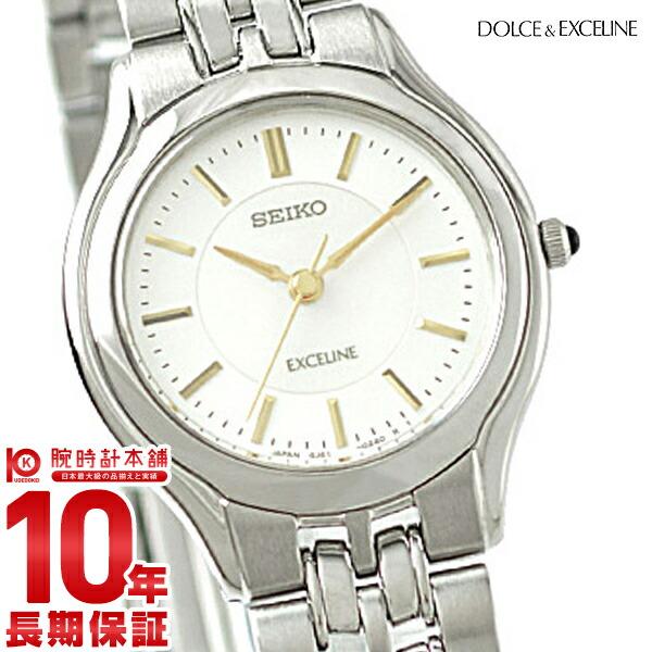 最大1200円割引クーポン対象店 セイコー ドルチェ&エクセリーヌ DOLCE&EXCELINE SWDL099 [正規品] レディース 腕時計 時計【24回金利0%】