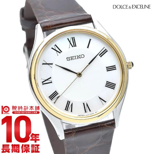最大1200円割引クーポン対象店 セイコー ドルチェ&エクセリーヌ DOLCE&EXCELINE SACM152 [正規品] メンズ 腕時計 時計【24回金利0%】