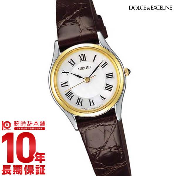 最大1200円割引クーポン対象店 セイコー ドルチェ&エクセリーヌ DOLCE&EXCELINE SWDL162 [正規品] レディース 腕時計 時計【24回金利0%】