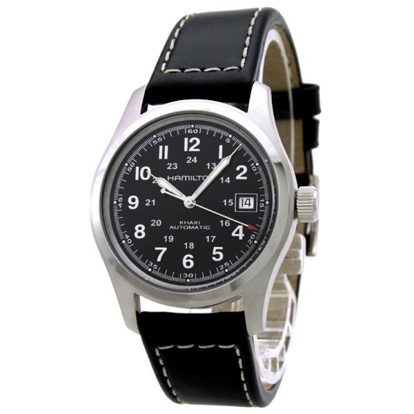 HAMILTON [海外輸入品] H70455733 カーキ 【ショッピングローン24回金利0%】 時計 フィールドオート ハミルトン メンズ 腕時計