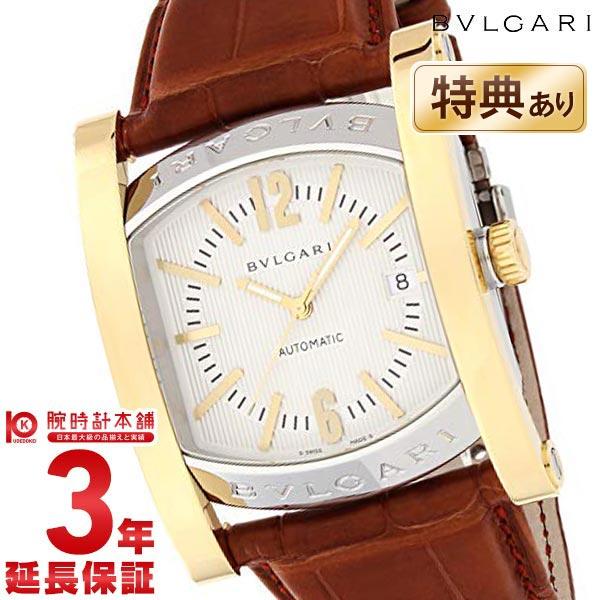 【ショッピングローン24回金利0%】ブルガリ BVLGARI アショーマ アイボリー K18イエローゴールドコンビ 自動巻 AA48C6SGLD [海外輸入品] メンズ 腕時計 時計