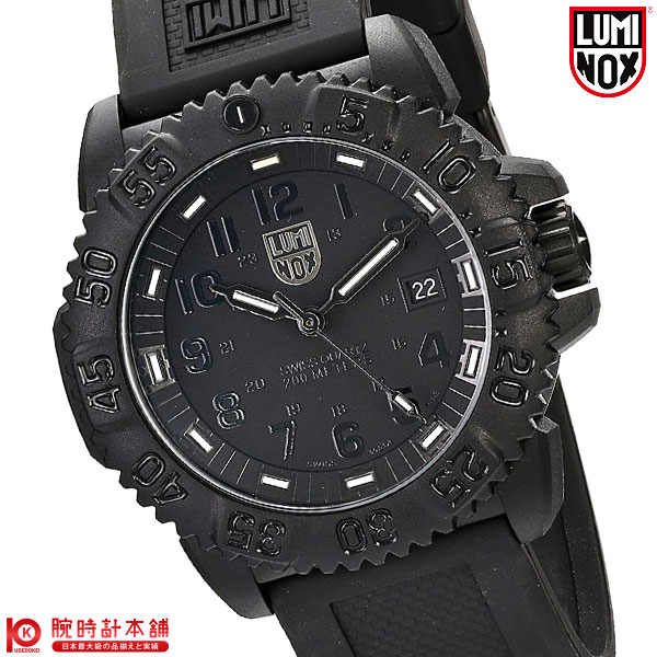 Luminox LUMINOX Navy Seals colormark series blacked-out military 3051.BO mens  watch watches 765141bd28f