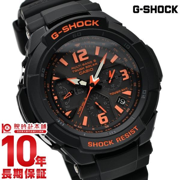 カシオ Gショック G-SHOCK グラビティマスター 世界6局対応 パイロット ソーラー電波 GW-3000B-1AJF [正規品] メンズ 腕時計 時計(予約受付中)