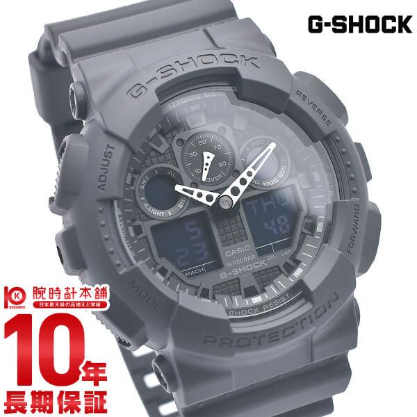 【店内ポイント最大43倍&最大2000円OFFクーポン!9日20時から】【カシオ Gショック G-SHOCK STANDARD GA-100-1A1JF [正規品] メンズ 腕時計 時計