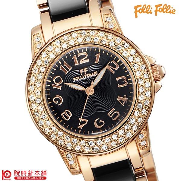 【店内最大37倍!28日23:59まで】【最安値挑戦中】フォリフォリ FolliFollie WF9B020BPK [海外輸入品] レディース 腕時計 時計