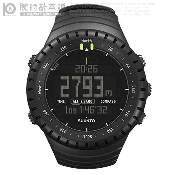 SUUNTO [国内正規品] スント コア オールブラック SS014279010 メンズ 腕時計 時計