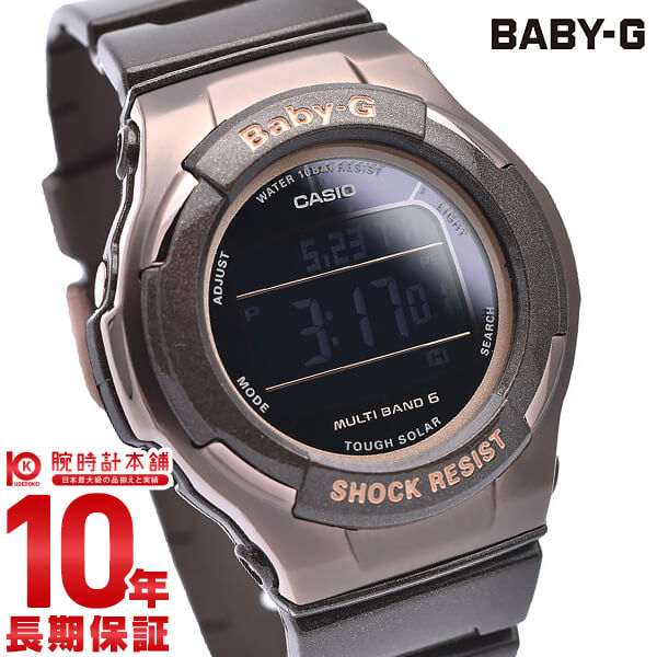 最大1200円割引クーポン対象店 カシオ ベビーG BABY-G トリッパー ソーラー電波 BGD-1310-5JF [正規品] レディース 腕時計 時計(予約受付中)