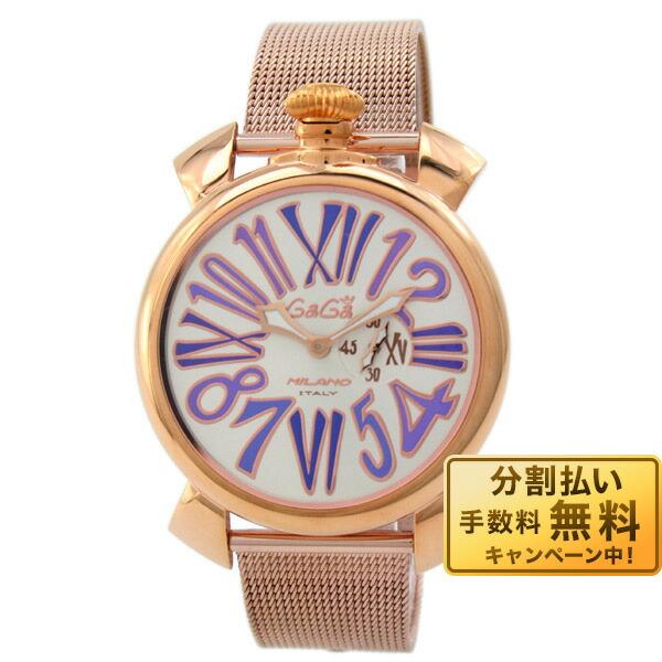 【ショッピングローン24回金利0%】ガガミラノ GaGaMILANO PLACCATO ORO 5081.3 YG [海外輸入品] メンズ 腕時計 時計