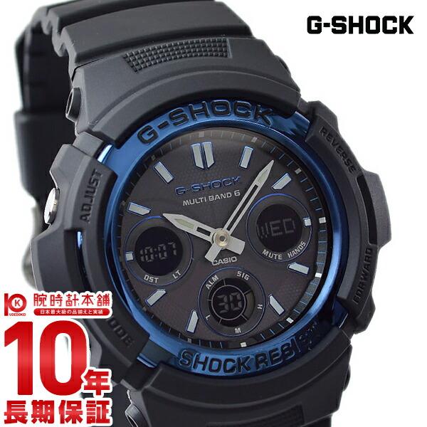 【店内ポイント最大43倍&最大2000円OFFクーポン!9日20時から】カシオ Gショック G-SHOCK タフソーラー 電波時計 MULTIBAND 6 AWG-M100A-1AJF [正規品] メンズ 腕時計 時計(予約受付中)