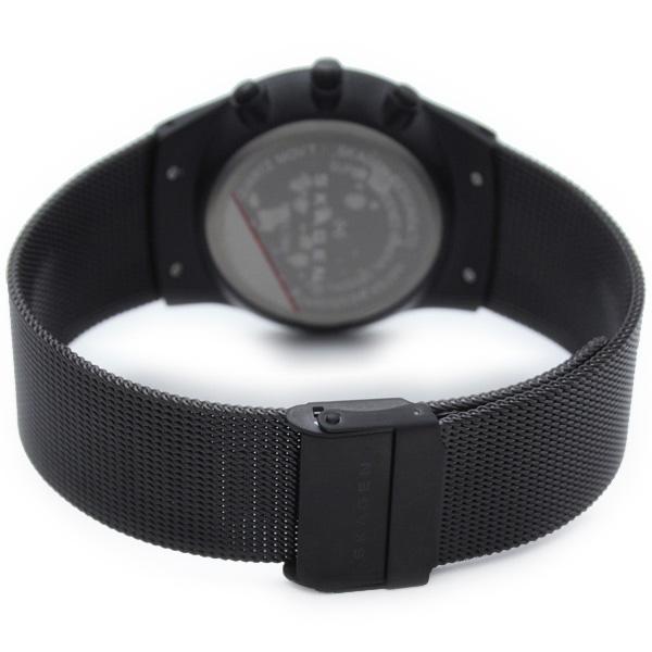 스카겐 SKAGEN 크로노그래프 캘린더 906 XLTBB 맨즈 손목시계 시계