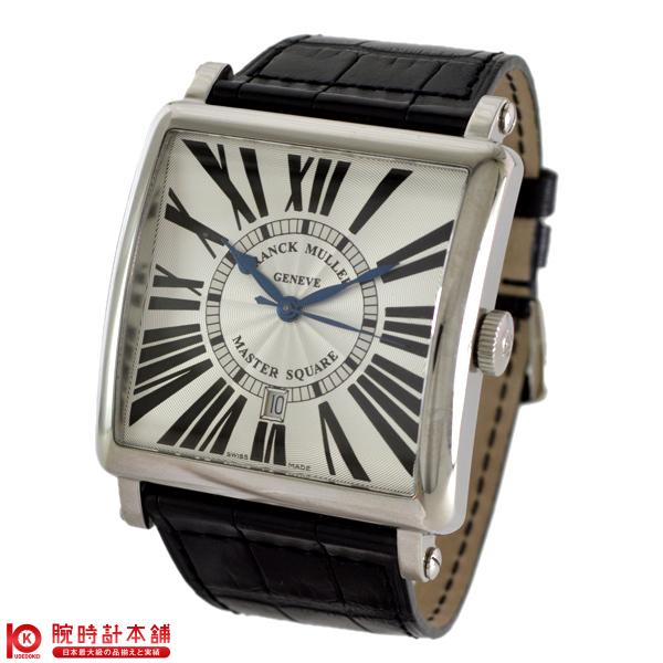【ポイント最大24倍!9日20時より】FRANCKMULLER [海外輸入品] フランクミュラー 6000KSCDTM.SQ銀黒革 メンズ 腕時計 時計【あす楽】