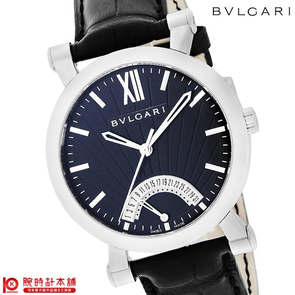 【ショッピングローン24回金利0%】ブルガリ BVLGARI ソティリオ SB42BSLDR [海外輸入品] メンズ 腕時計 時計