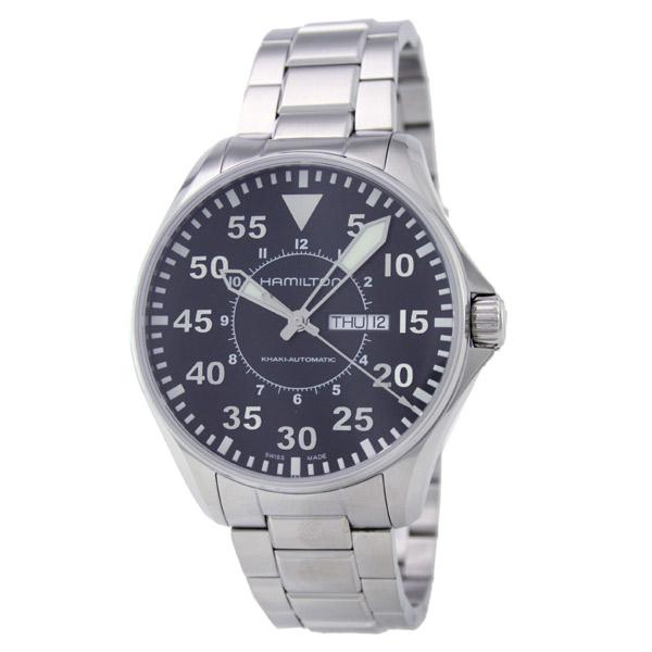 해밀턴 카 키 HAMILTON アビエイションパイロット H64715135 남성용 시계 시계