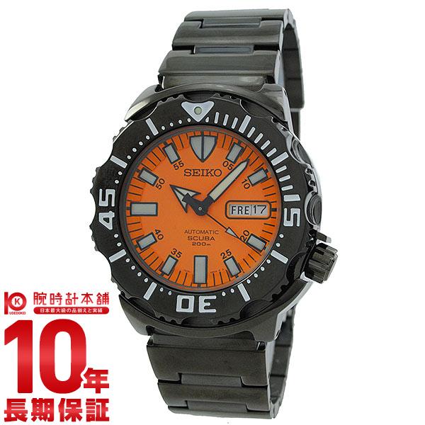 세이코 SEIKO 선예매 한정 모데르다이바즈워치오렌지 200 m방수 기계식(자동감김) SZEN009 [국내 정규품]맨즈 손목시계 시계