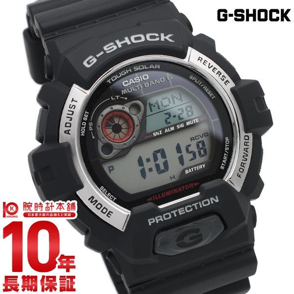 カシオ Gショック G-SHOCK タフソーラー 電波時計 MULTIBAND 6 GW-8900-1JF [正規品] メンズ 腕時計 時計(予約受付中)