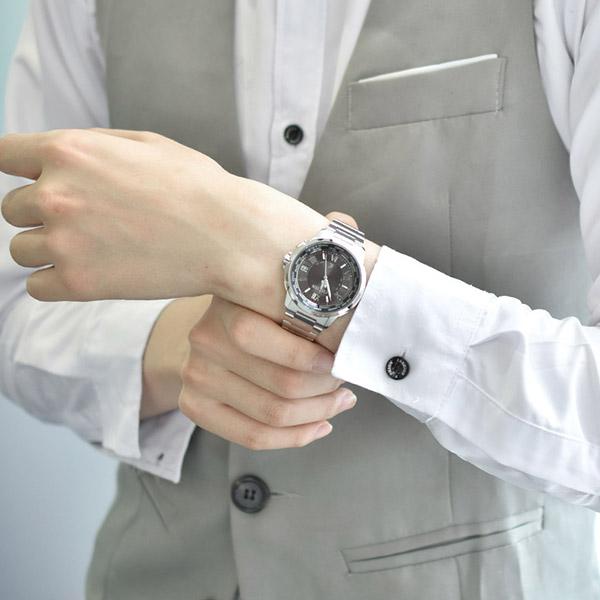 시민 CITIZEN 크로스 시 XC CB1020-54E 키 타가와 케이 코 이미지 캐릭터 남자 시계 다 극 받는 형식 바늘 표시 식 전파 솔 러 # 99705