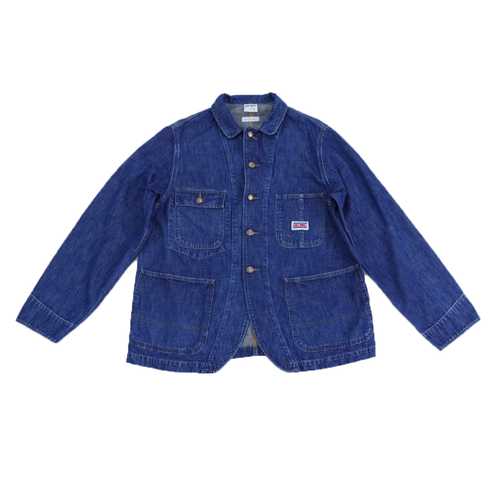 【BIG MAC made by ORDINARY FITS】ビッグマック×オーディナリーフィッツ デニムカバーオール DENIM COVERALL メンズ コラボ商品
