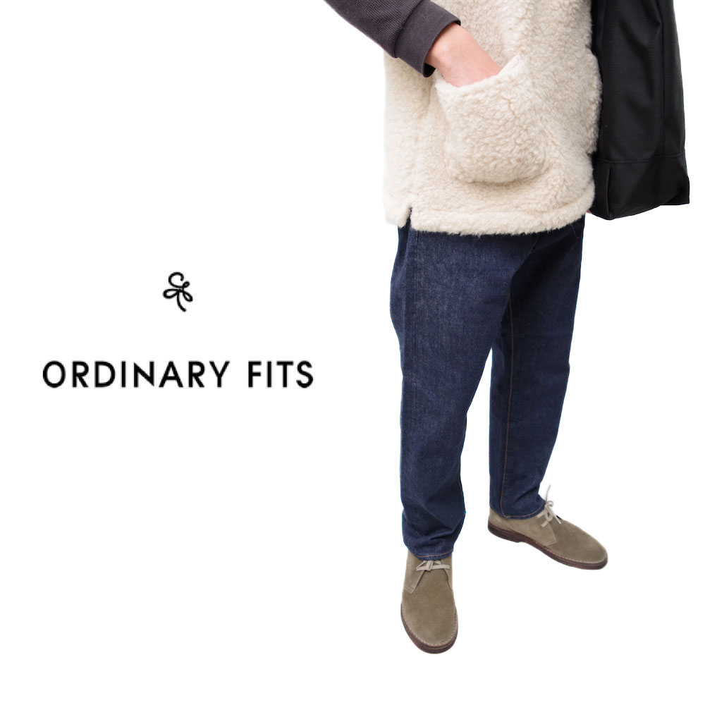 Ordinary Fits 2020春夏モデルメンズ 5POCKET ANKLE DENIM one wash 5ポケット アンクルデニム ワンウォッシュ men's オーディナリーフィッツ 即日発送!