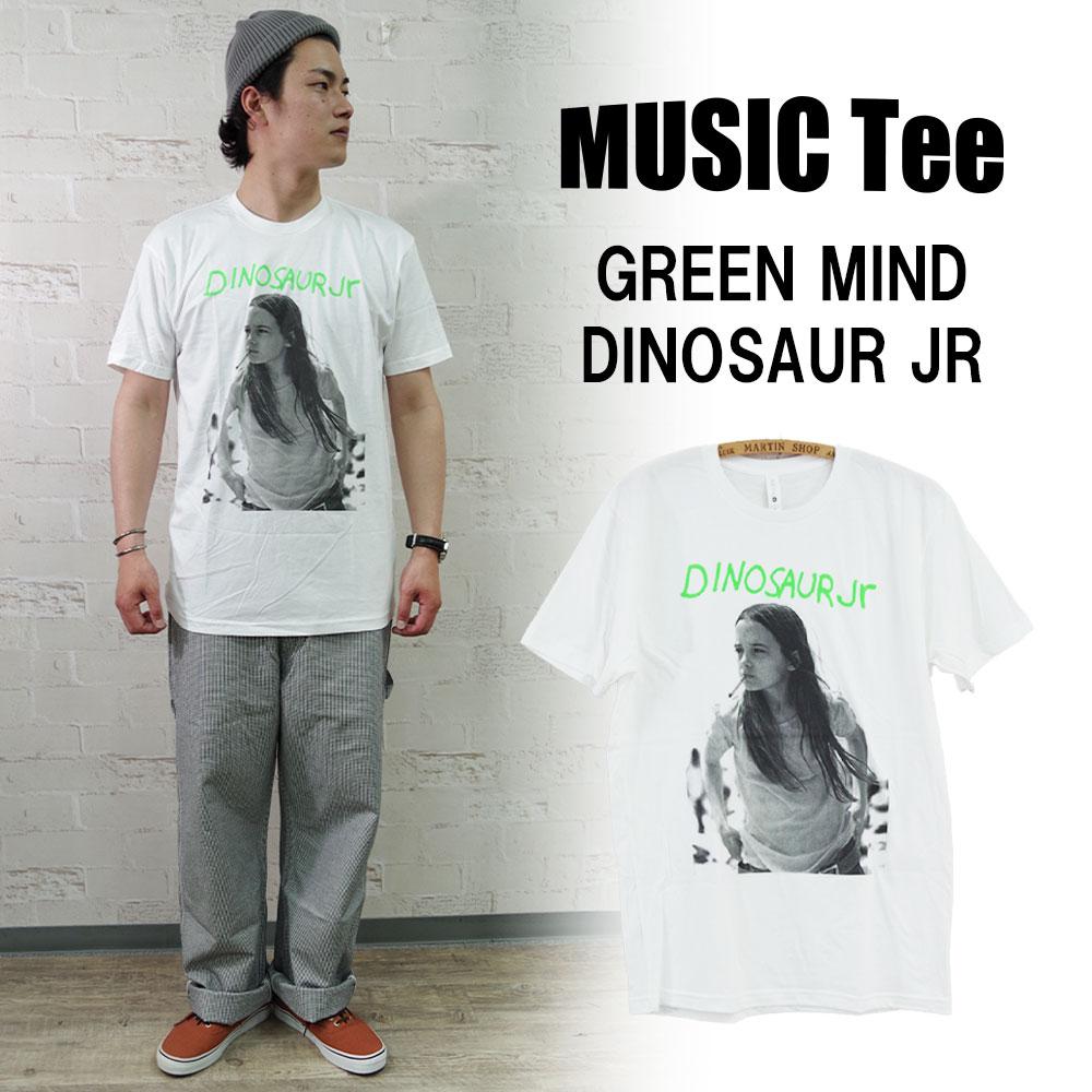 ミュージックティー グリーンマインド MUSIC Tee GREEN MIND-DINOSAUR JR 国内即発送 舗