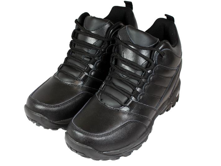 【10cmUP】+10cmUP シークレットシューズ 10_sneaker_002 スニーカータイプ ハイテクスニーカースタイル 10cm身長が高くなる シークレットブーツ シークレット メンズ ブラック 紐靴 送料無料