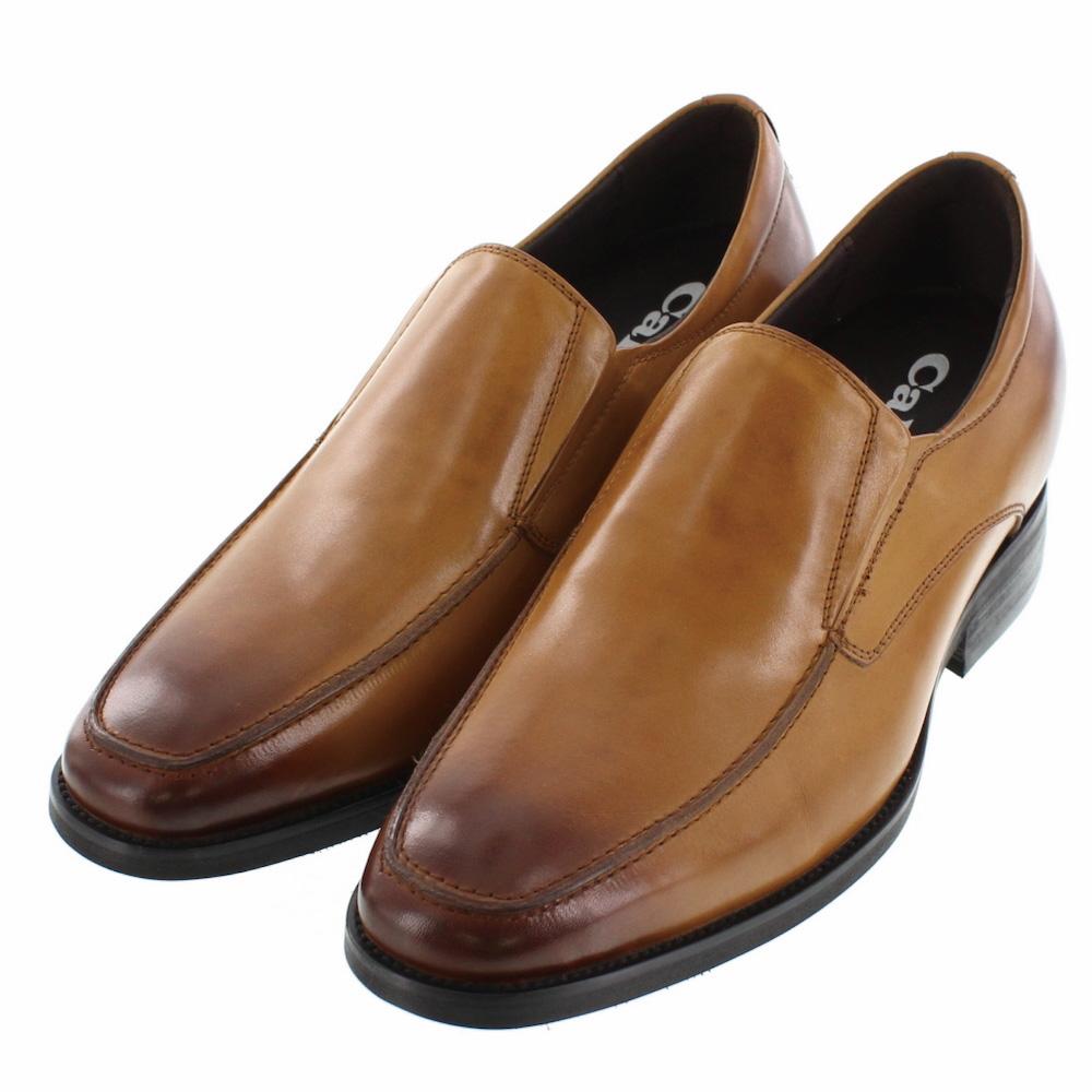 【7cmUP】 +7cmUP シークレットシューズ 7_biz_024ビジネスタイプ ビジネスシューズ 靴 結婚式 本革 7cm背が高くなる シークレットブーツ シークレット メンズ ブラウン 紐靴