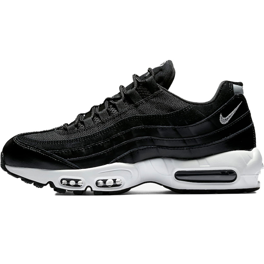 未使用品 エアマックス chrome-black-off white 【中古】 NIKE AIR MAX 95 PRM 538416-008 black//