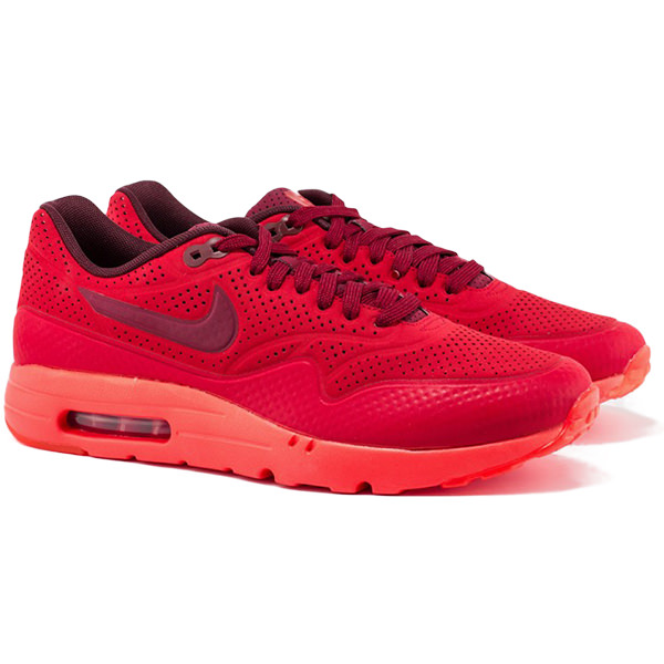 NIKE ナイキ Air Max 1 Ultra Moire メンズ スニーカー Gym Red | University Red 705297-600 限定完売モデル 海外取寄せ あす楽 harusport_d19