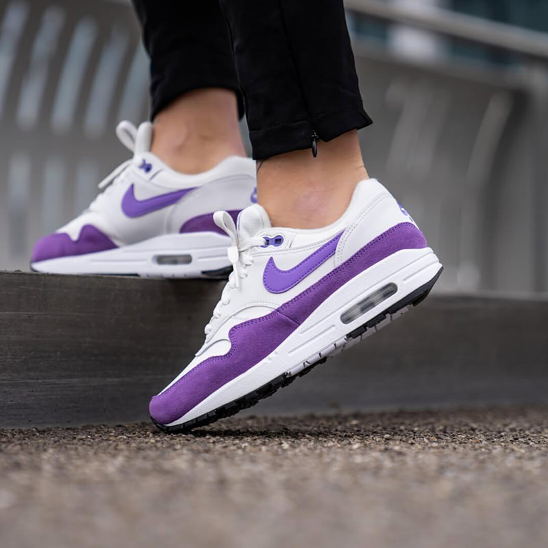 best sell limited guantity detailed pictures NIKE Nike WMNS AIR MAX 1 'ATOMIC VIOLET' Ui men model Air Max one