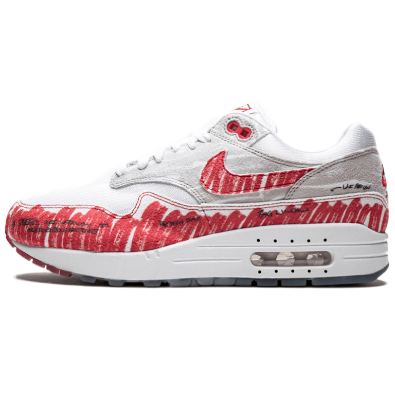 NIKE ナイキ AIR MAX 1 'SKETCH TO SHELF - UNIVERSITY RED' エア マックス ワン
