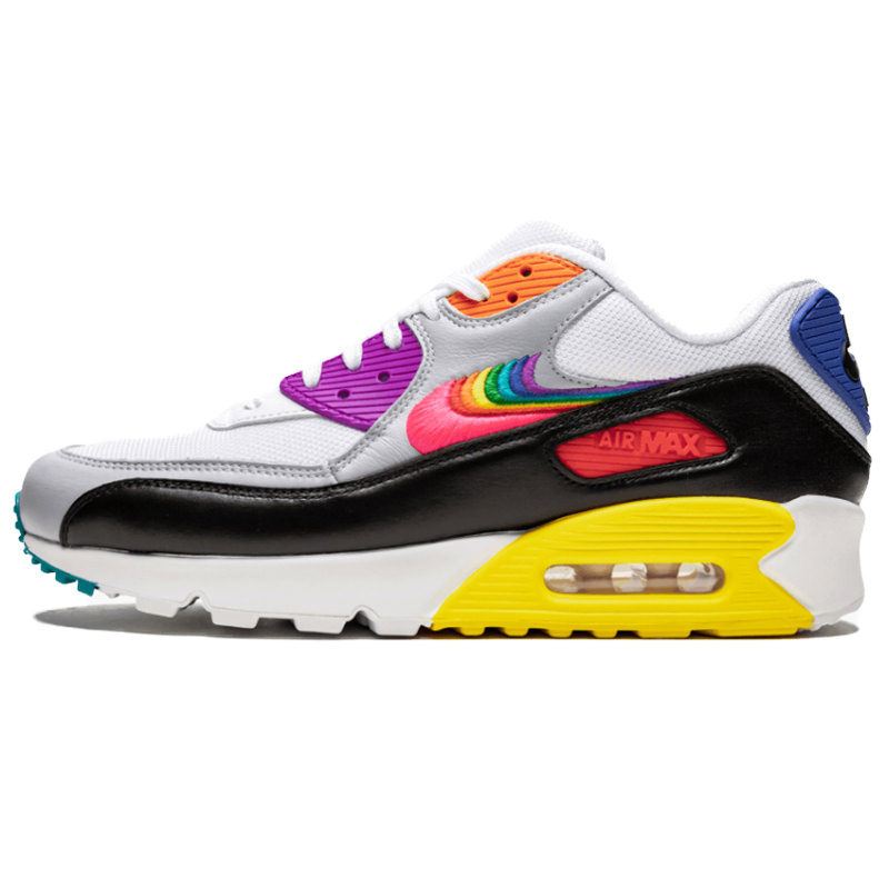 The kids model women gap Dis sneakers running shoes which Nike Air Max 90 Leather GS Kie Ney AMAX 90 leather GS 833,412 100 adult can wear