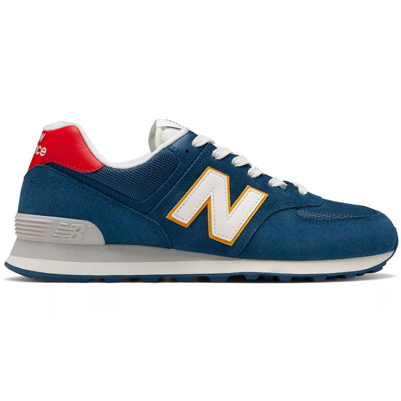 NEW BALANCE New Balance 574 men's lady's sneakers DARK BLUE/TEAM RED dark  blue / team red ML574OBA