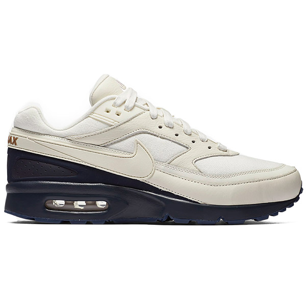 NIKE Nike Air Max BW Premium Air Max BW premium men sneakers SailMidnight NavyAle BrownSail 819,523 104 overseas limited Japanese non arrival