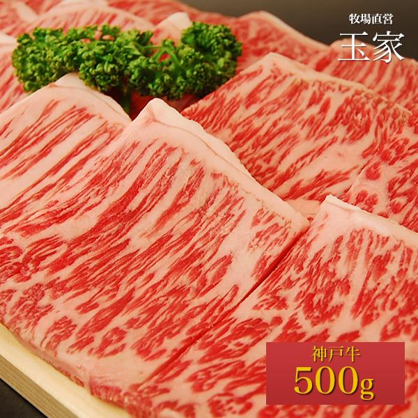 【送料無料】【神戸ビーフ ギフト】神戸牛 サーロイン 焼肉 500g(冷蔵)国産 牛肉 肉 贈答 お返し お取り寄せグルメ 巣ごもり 自粛 復興応援