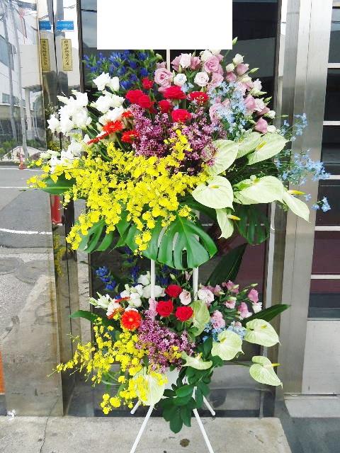 表参道風デザイン スタンド花2段