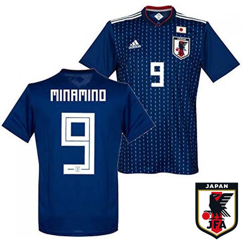 【送料無料】[ジュニア]アディダス サッカー日本代表ユニフォーム ジュニア MINAMINO #9( サッカー フットサル ウェア ユニフォーム 日本代表 )