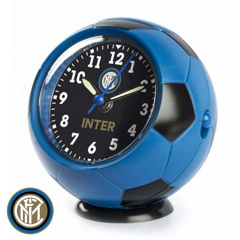 インテル ボール型アラームクロック JA7082IN1 サッカー フットサル 時計 毎週更新 蔵 目覚まし時計 グッズ