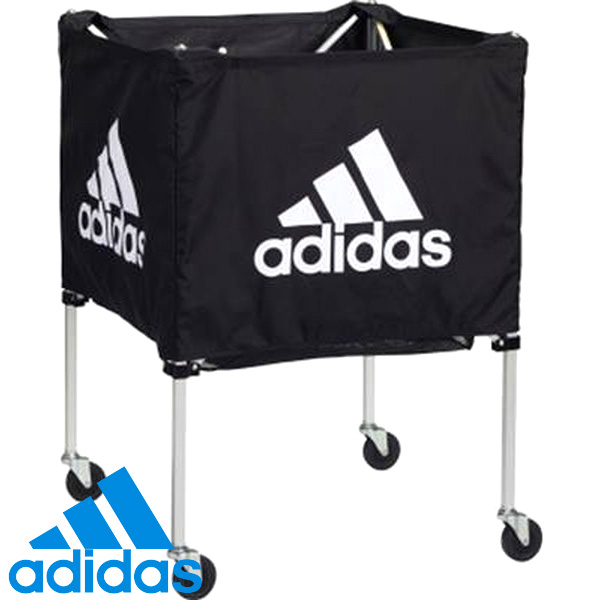 アディダス ボールキャリアー クロ( 送料無料 サッカー フットサル ボール入れ カゴ ボールカゴ キャリアー アディダス adidas )