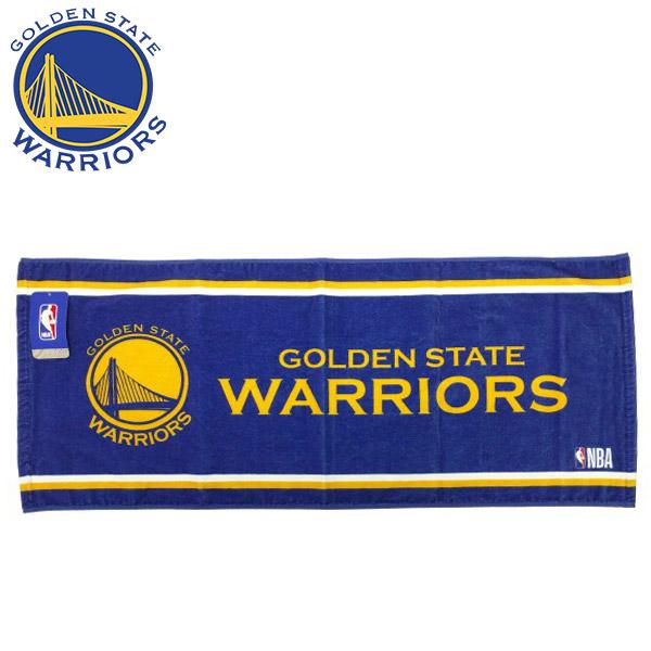 NBA ゴールデンステート ウォリアーズ フェイスタオル(バスケットボール アクセサリー スポーツタオル NBA - ゴールデンステイト ウォリアーズ Golden State Warriors )